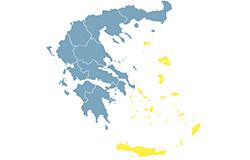 Νησιά Αιγαίου και Κρήτη